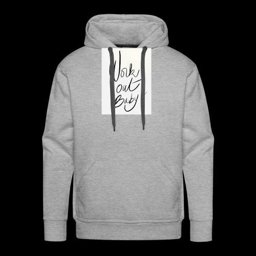95D012FF AEAE 47D3 8472 0F95473FE1B1 - Sweat-shirt à capuche Premium pour hommes