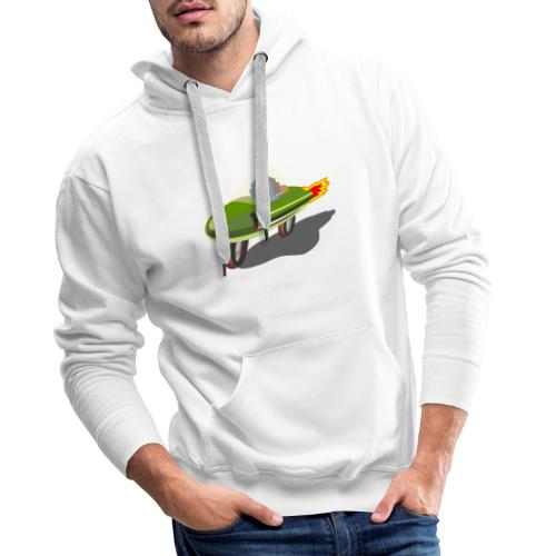 Futuristic Retro Bike - Men's Premium Hoodie