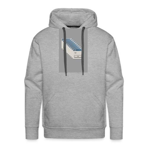 ERROR! - Mannen Premium hoodie