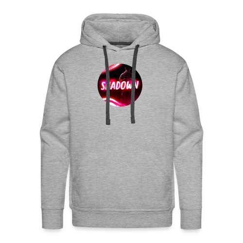 Logo - Shadown Kreis - Männer Premium Hoodie