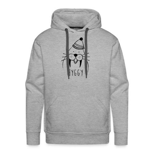 Freundliches Walross mit Mütze Hyggy hyggecontest - Männer Premium Hoodie