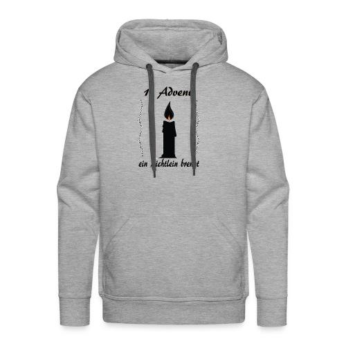 1 Advent Weihnachtsshirt winter design - Männer Premium Hoodie