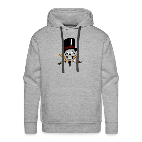 pinsel skull - Männer Premium Hoodie