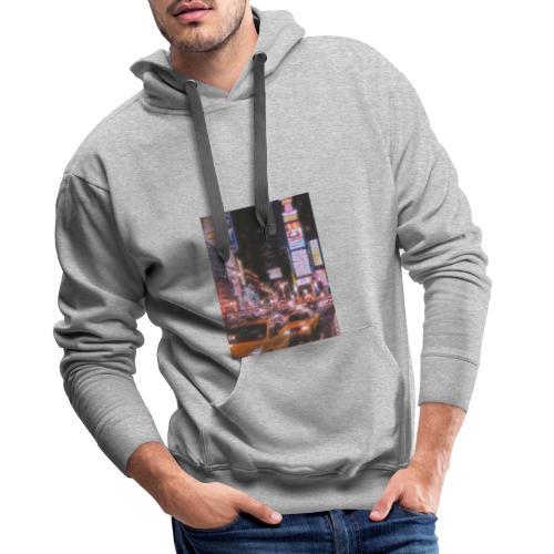 Ciudad - Sudadera con capucha premium para hombre