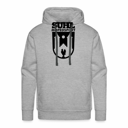 Suhl Mopedsport Hahn Logo - Men's Premium Hoodie