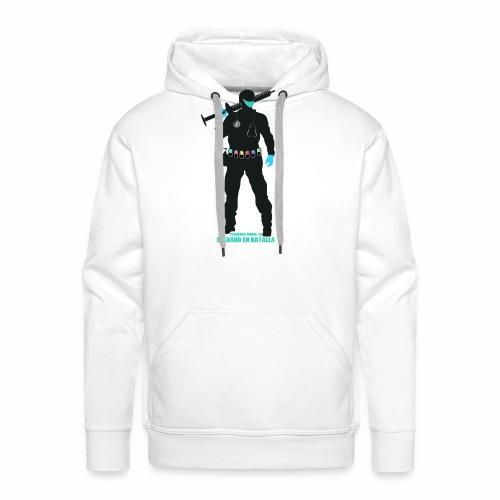 Nuestros Heroes - Sudadera con capucha premium para hombre