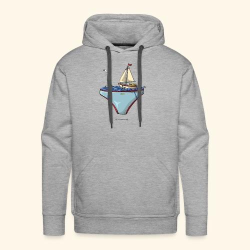 Ta mer en slip - Sweat-shirt à capuche Premium pour hommes