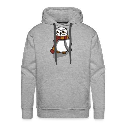 Chouette - Sweat-shirt à capuche Premium pour hommes
