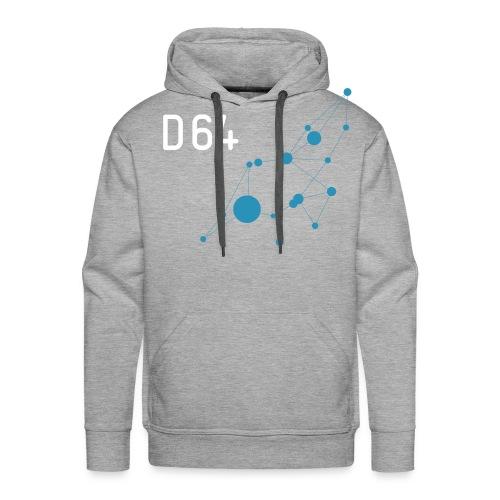 D64 Netzwerk zweifarbig - Männer Premium Hoodie