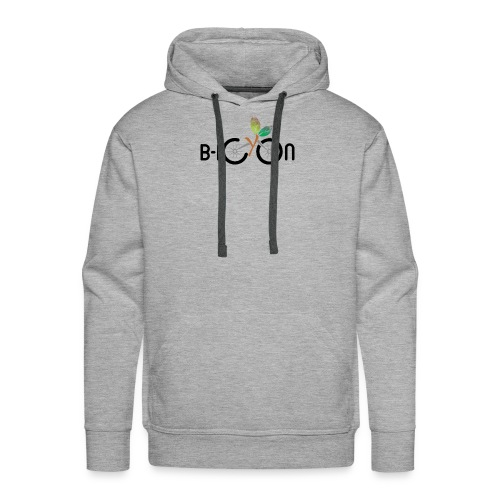 B-Icon Logo (Light Colored Items) - Mannen Premium hoodie