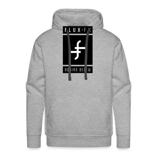 FLUXFX_logo_belew - Men's Premium Hoodie
