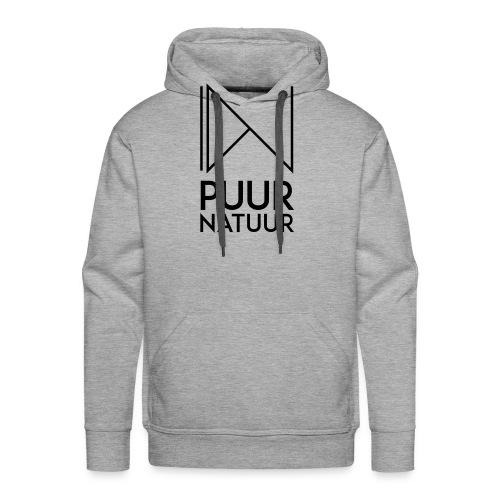 PUUR NATUUR FASHION BRAND - Mannen Premium hoodie