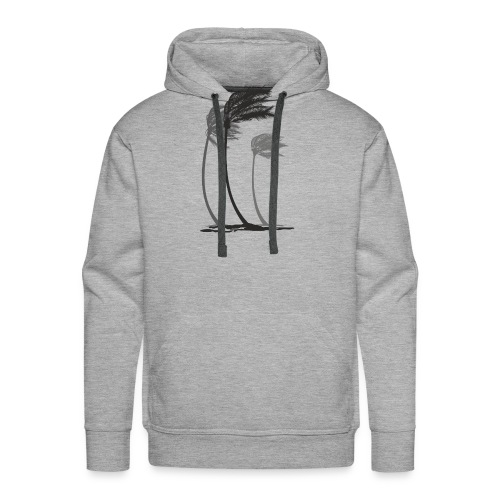 Palms in the wind - Männer Premium Hoodie
