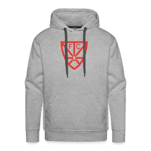 FCRWO Logo rot ohne hintergrund png - Männer Premium Hoodie