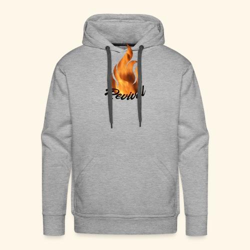 Revival fire - Premium hettegenser for menn