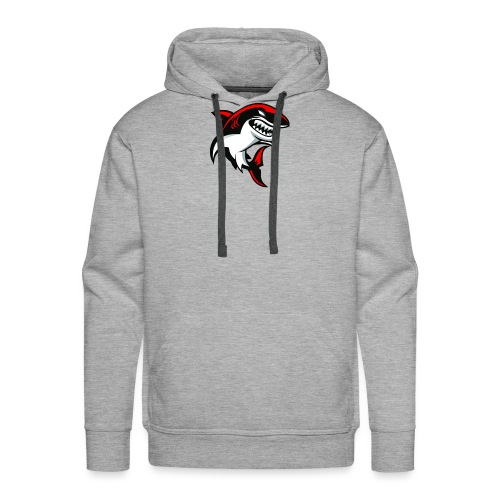 sharkalone - Sweat-shirt à capuche Premium pour hommes