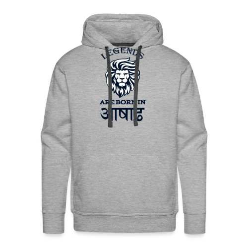 Asar, the third month of Nepali calender. - Men's Premium Hoodie