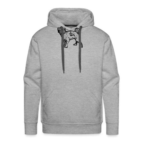 Pug Dog - Men's Premium Hoodie