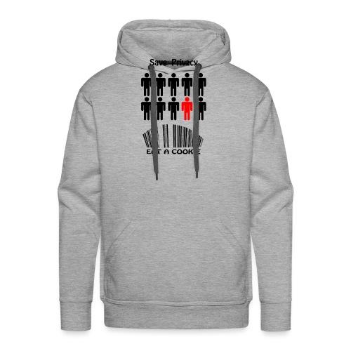 Save Privacy - Sweat-shirt à capuche Premium pour hommes