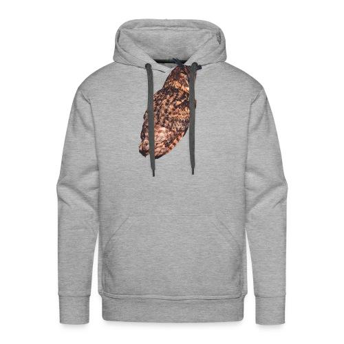 chouette1 - Sweat-shirt à capuche Premium pour hommes