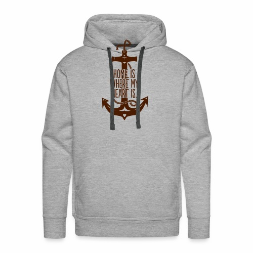 Home is where my Heart is - Männer Premium Hoodie