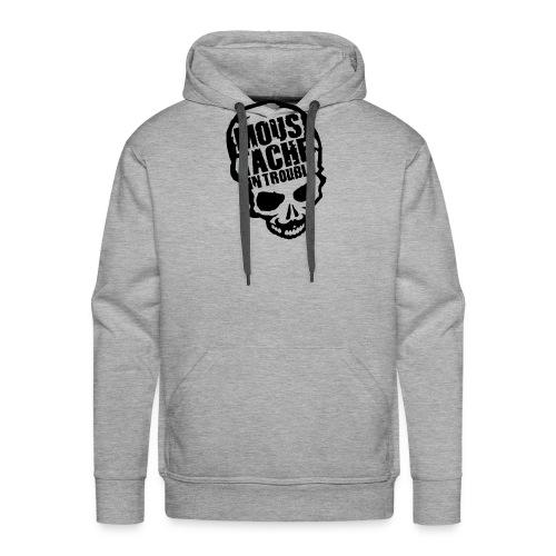 Moustache Skull - Männer Premium Hoodie