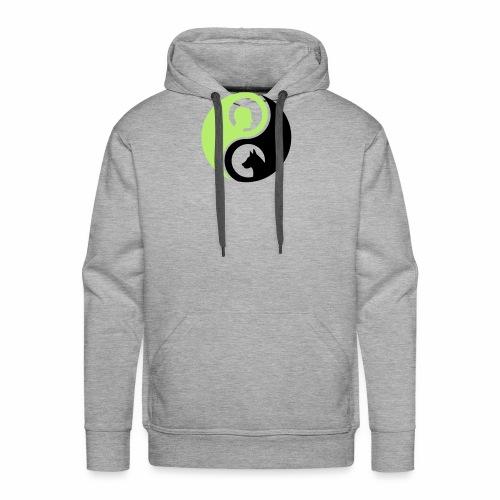 animaltraining logo - Mannen Premium hoodie