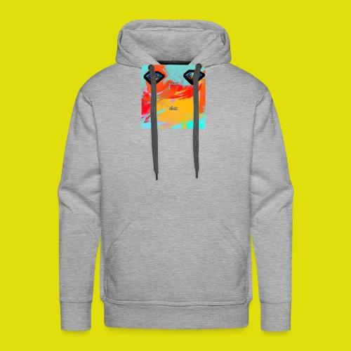 grey hoodie youtube logo - Men's Premium Hoodie