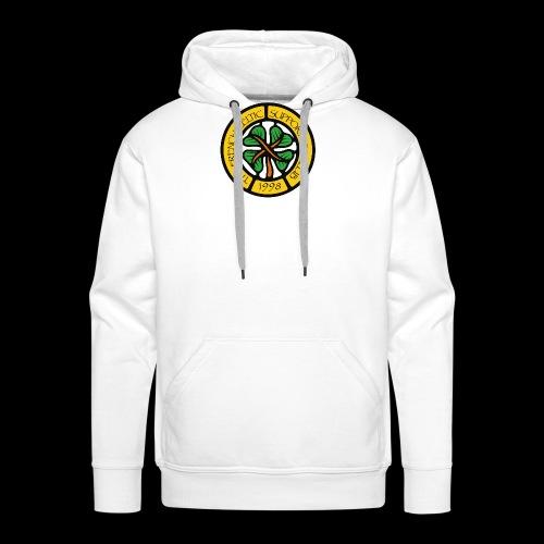 French CSC logo - Sweat-shirt à capuche Premium pour hommes