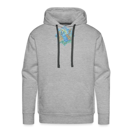celtic flower - Men's Premium Hoodie