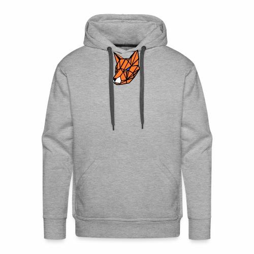 renard geometrique - Sweat-shirt à capuche Premium pour hommes