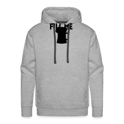 fill me with beer - Sweat-shirt à capuche Premium pour hommes