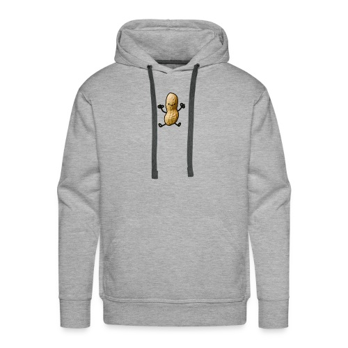 Pinda logo - Mannen Premium hoodie