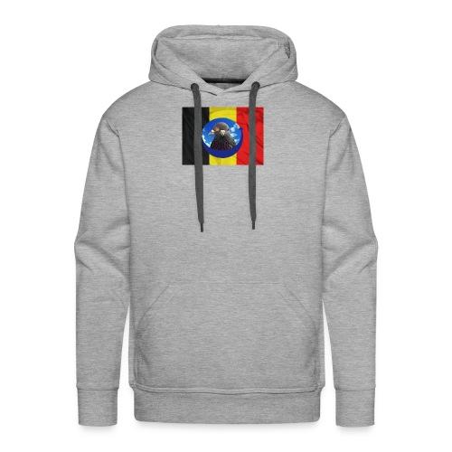TSHIRTDESARDENNES - Sweat-shirt à capuche Premium pour hommes