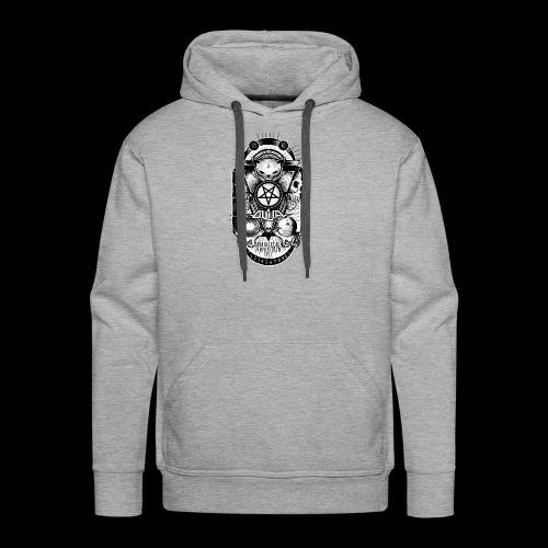 Logo Ouija complet - Sweat-shirt à capuche Premium pour hommes