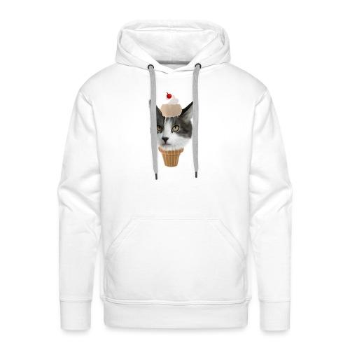 Ice Cream Cat - Männer Premium Hoodie
