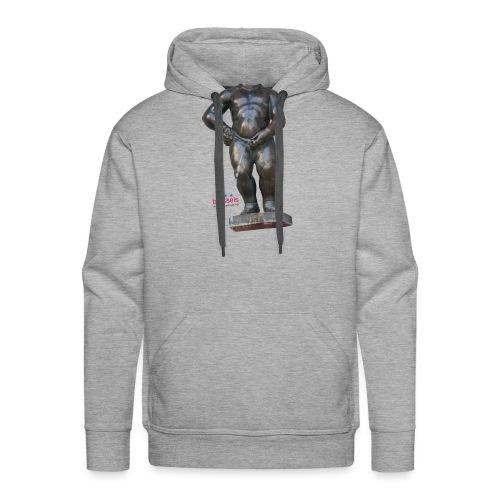 mannekenpis Real Big ♀♂ | 撒尿小童 - Sweat-shirt à capuche Premium pour hommes