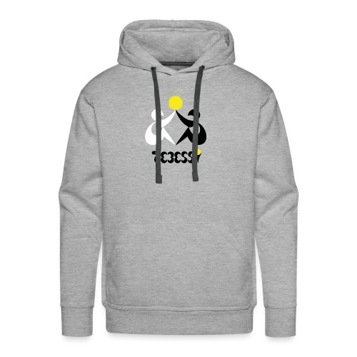 Logo Tebessy Soleil - Sweat-shirt à capuche Premium pour hommes