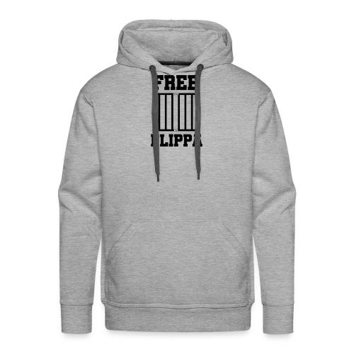 Free Flippa Zwart - Mannen Premium hoodie