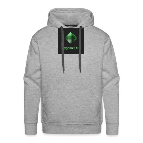Bygamer 10 - Sudadera con capucha premium para hombre