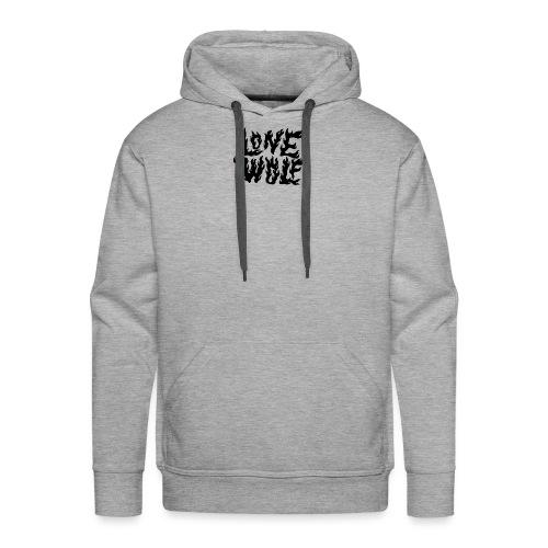 Lone Wolf - Sweat-shirt à capuche Premium pour hommes