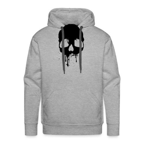 black skull - Männer Premium Hoodie