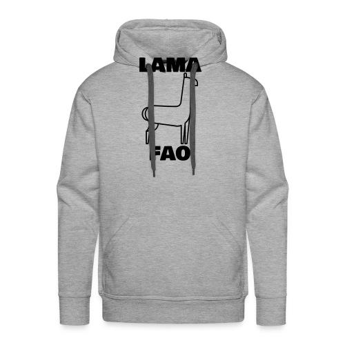 LaMaFAO - Männer Premium Hoodie