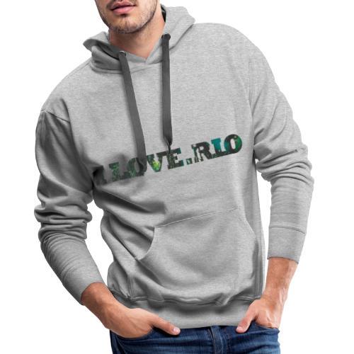 ILOVE.RIO TROPICAL N ° 3 - Men's Premium Hoodie