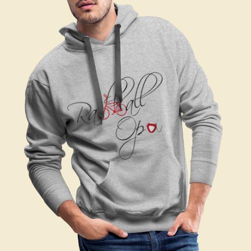 Radball | Opa - Männer Premium Hoodie