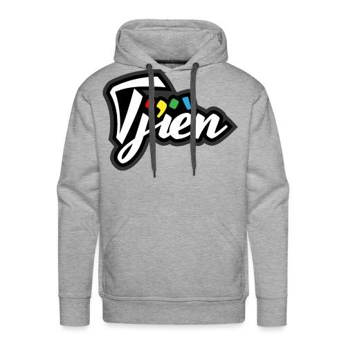 Tjien Logo Design - Mannen Premium hoodie