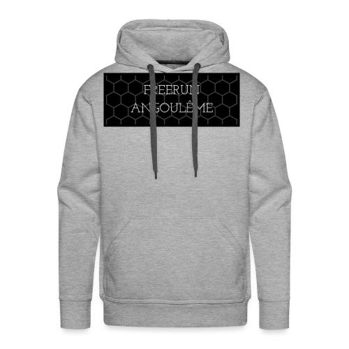 FREERUN MIEL :) - Sweat-shirt à capuche Premium pour hommes
