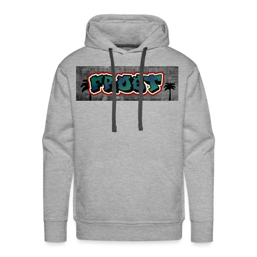 Graffiti Frost - Männer Premium Hoodie