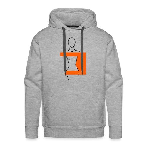 Woman Pittig - Mannen Premium hoodie