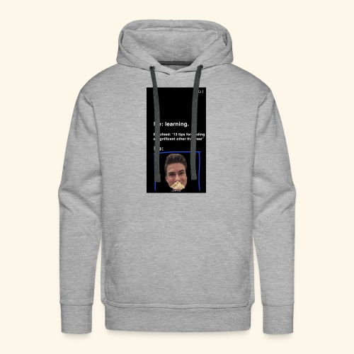 Jurre meme - Mannen Premium hoodie